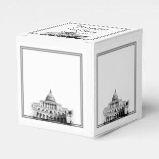 Washington DC-Hochzeit in Geschenkschachtel