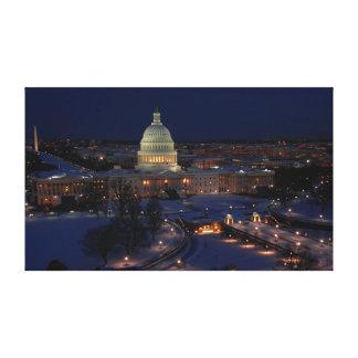 Washington DC Leinwanddruck