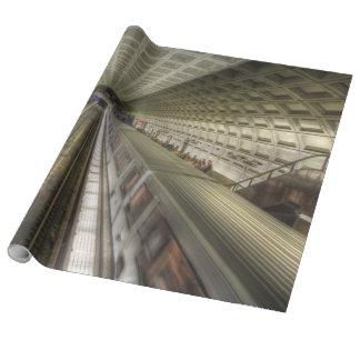 Washington DC-Metro-Bahnstation Geschenkpapier