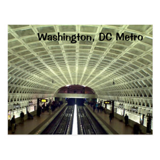 Washington, DC: Metro-Station Postkarte