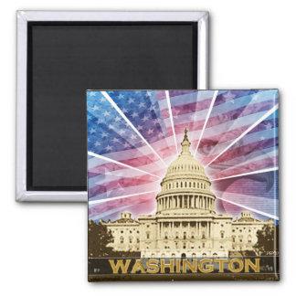 Washington DC Quadratischer Magnet