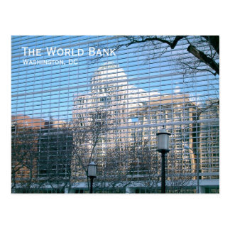 Washington, DC: Weltbank Postkarte