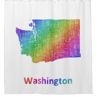 Washington Duschvorhang
