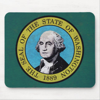 Washington-Flagge Mousepad