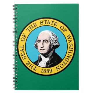 Washington-Flagge Notizblock