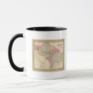 Washington-Karte durch Mitchell Tasse