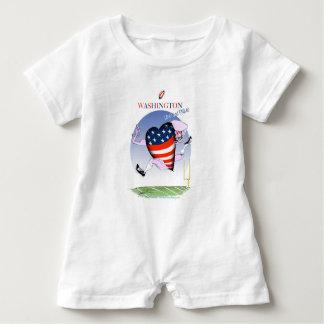 Washington laute und stolz, tony fernandes baby strampler