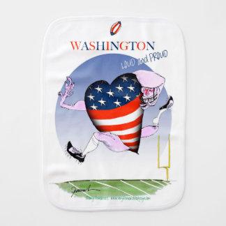 Washington laute und stolz, tony fernandes spucktuch
