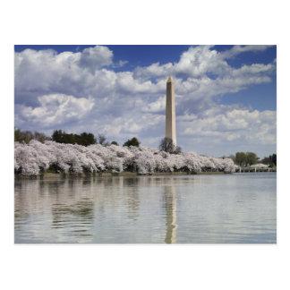 WASHINGTON-MONUMENT-LITHOGRAPHIE POSTKARTE