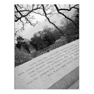 Washington-Monument-Postkarte Postkarte