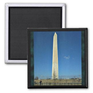Washington-Monument Quadratischer Magnet