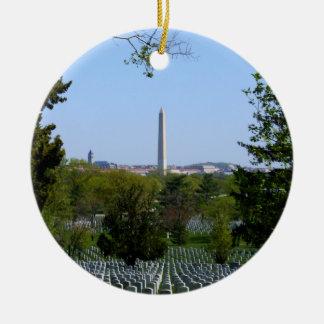 Washington-Monument-Verzierung Keramik Ornament