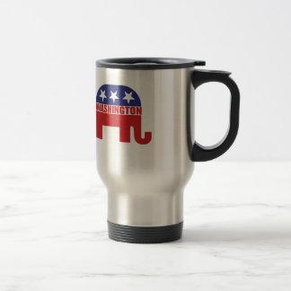 Washington-Republikaner-Elefant Reisebecher