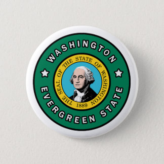 Washington Runder Button 5,7 Cm