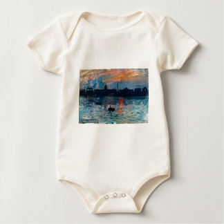 Washington Skyline1 Baby Strampler