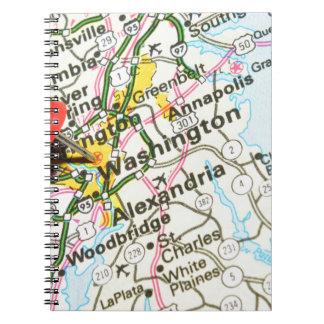 Washington Spiral Notizblock