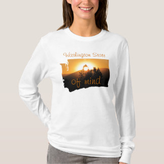 Washington-Staat des Verstandes T-Shirt