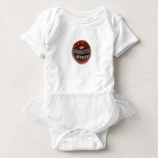 Washington-Staatsrotapfel Baby Strampler
