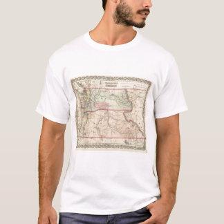 Washington und Oregon und Idaho und Montana T-Shirt
