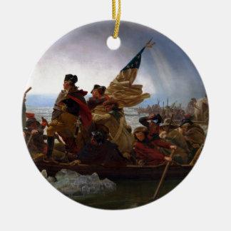 Washington Vintage Kunst, das des Delawares - US Keramik Ornament