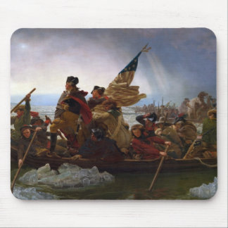 Washington Vintage Kunst, das des Delawares - US Mauspad