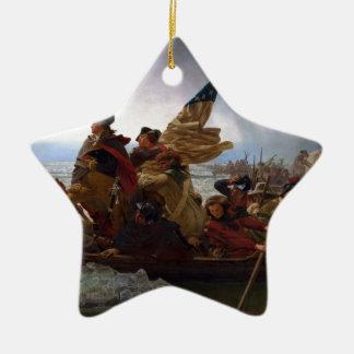 Washington Vintage US Kunst, das des Delawares - Keramik Stern-Ornament