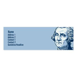 Washington-Visitenkarten