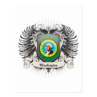 Washington-Wappen Postkarte