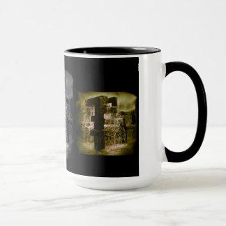 Wasser 3. Schwarzes 15 Unze-Wecker-Tasse Tasse