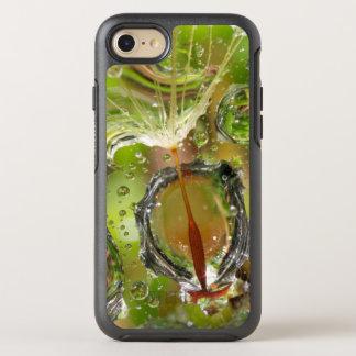 Wasser auf Löwenzahnsamen, CA OtterBox Symmetry iPhone 8/7 Hülle