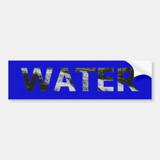 Wasser Autoaufkleber