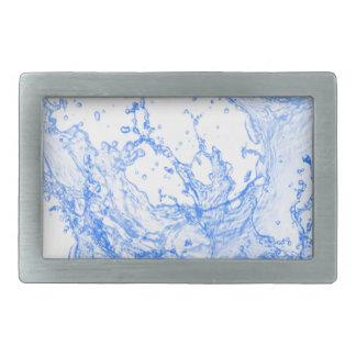 Wasser, Blau, Diffusion, Welle Rechteckige Gürtelschnalle