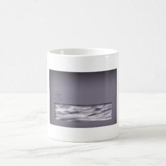 Wasser (chinesisches Schriftzeichen) Kaffeetasse