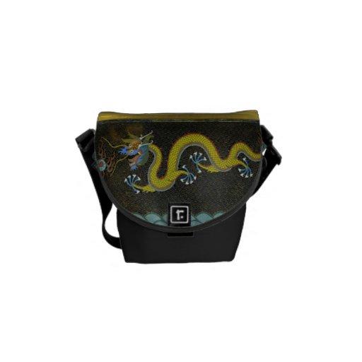 Wasser-Drache-chinesische Minibote-Tasche Kuriertaschen