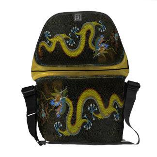 Wasser-Drache-chinesischer Tierkreis-glückliches R Kuriertaschen