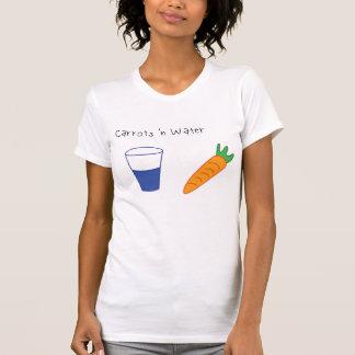 Wasser-Fan-Shirt der Karotten-n T-Shirt
