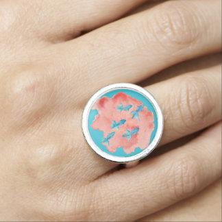 Wasser-Farbfisch-Ring Ring