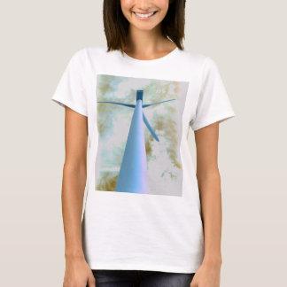 Wasser-FarbWindkraftanlage T-Shirt