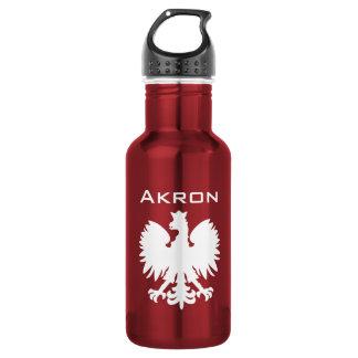 Wasser-Flasche Akrons Polska Edelstahlflasche
