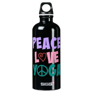 Wasser-Flasche des FriedensLiebe-Yoga-SIGG Wasserflasche