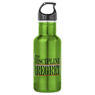 Wasser-Flasche inspirierend, wählen Sie Disziplin Trinkflasche