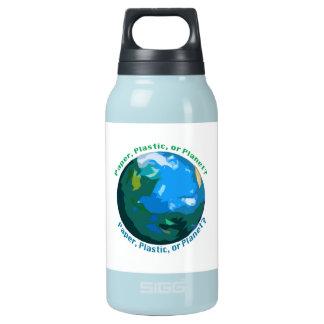 Wasser-Flaschen-, heiße oder kalteflüssigkeiten, Isolierte Flasche