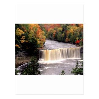 Wasser für Autmn Postkarte