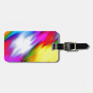 Wasser gefärbt kofferanhänger
