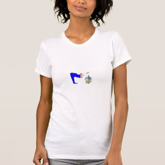 Wasser geht das Loch hinunter T-Shirt