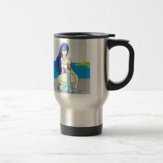 Wasser-Göttin Reisebecher