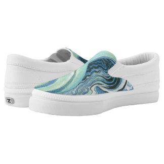 Wasser-Herausforderung Maria Damianou Slip-On Sneaker
