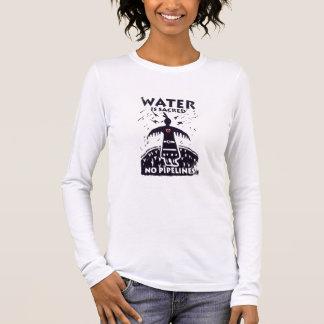 Wasser ist heiliges T-Stück Langarm T-Shirt