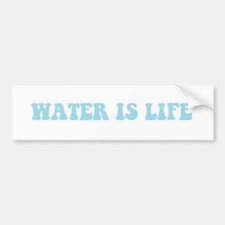 Wasser ist Lebenaufkleber Autoaufkleber