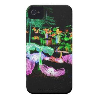 Wasser-Lilie leuchten Nachtphotographie iPhone 4 Etuis